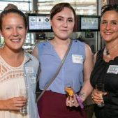 Julia Craig, Josephine Prescott, and Atieno Bird at Let's Connect @ The Draftsman