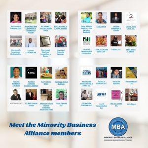 Meet the Minority Business Alliance members